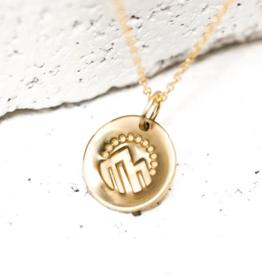 Pieces of Me Adventurous Necklace - Gold