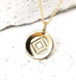 Pieces of Me Determined Necklace - Gold