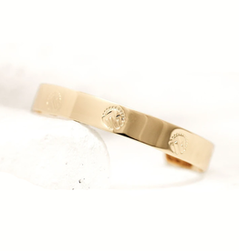 Pieces of Me Adventurous Cuff - Gold