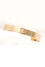 Pieces of Me Ambitious Cuff - Gold