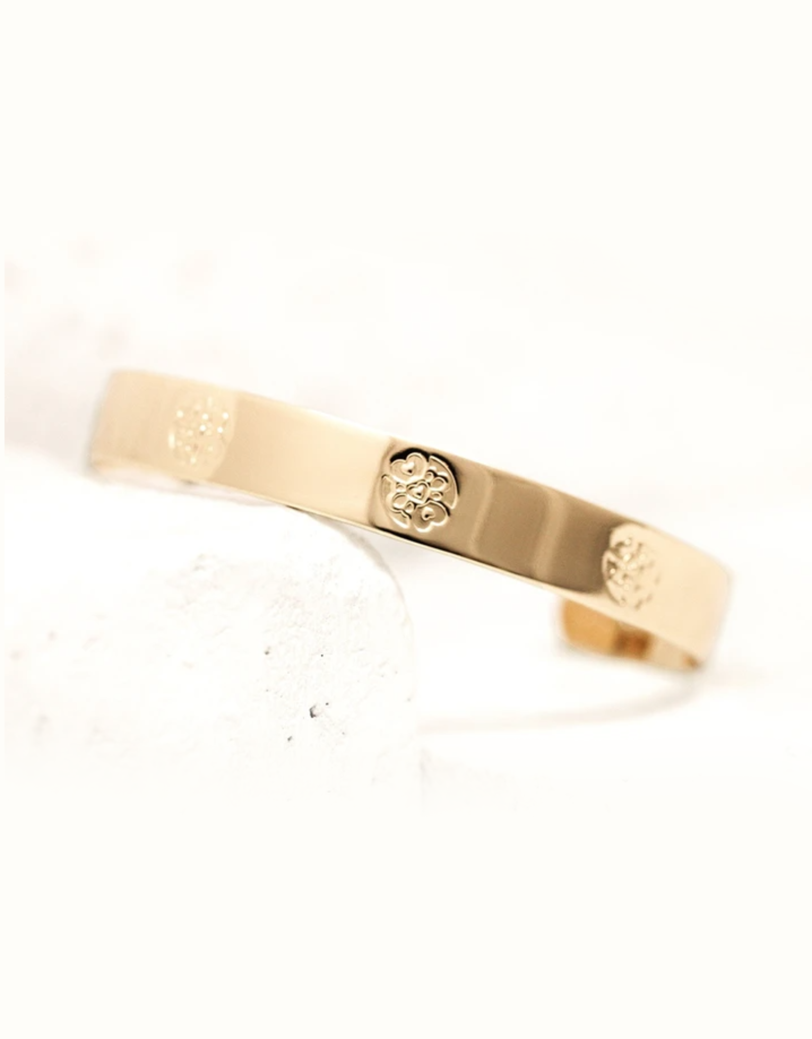 Pieces of Me Compassionate Cuff - Gold