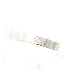 Pieces of Me Compassionate Cuff - Silver