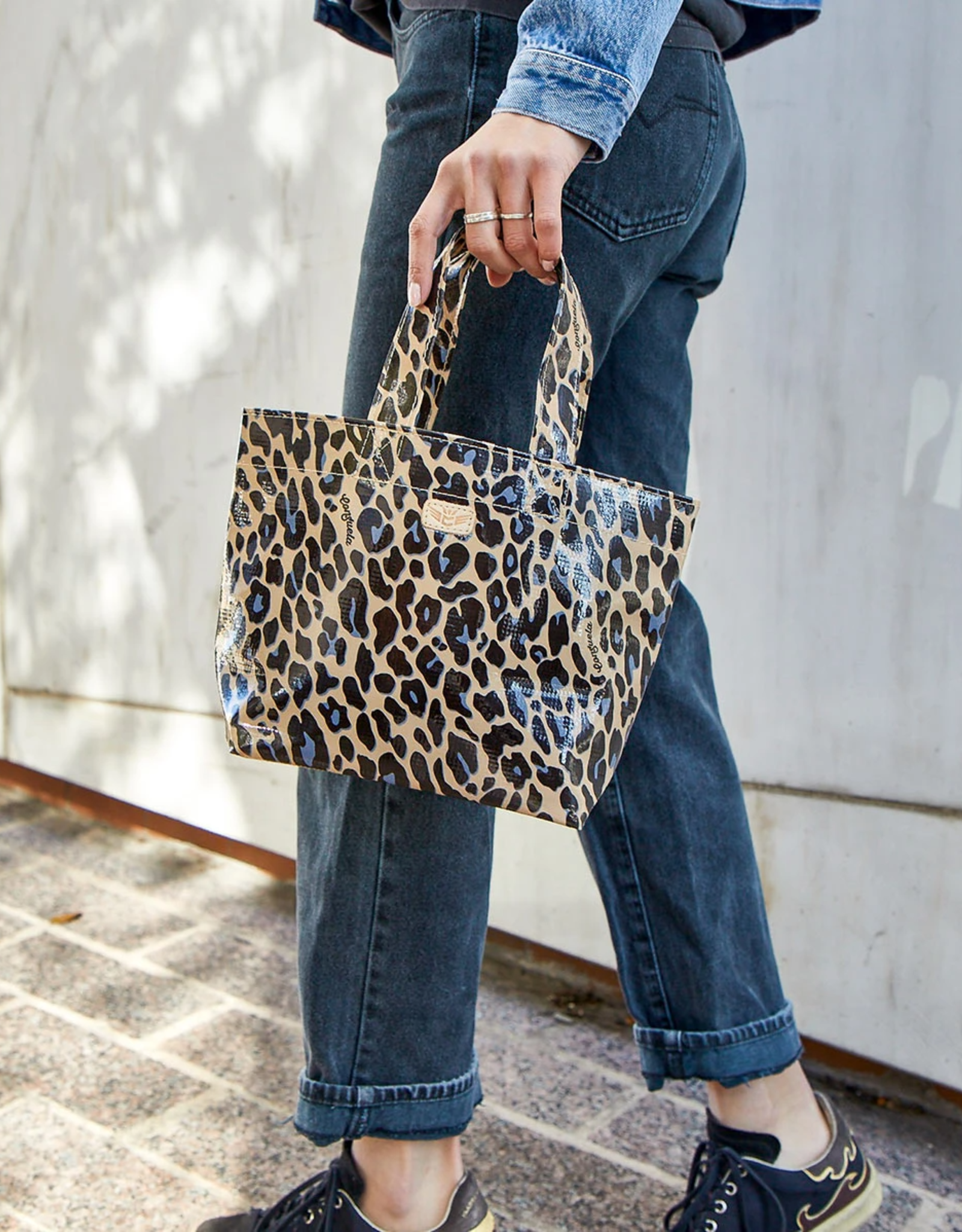 Consuela Blue Jag Mini Bag