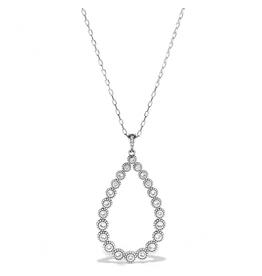 Brighton Twinkle Splendor Teardrop Necklace - Silver