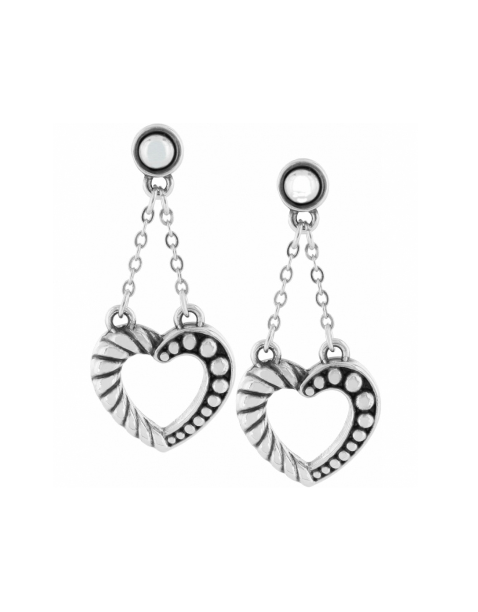Brighton Connected By Love Post Drop Earrings