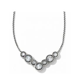Brighton Infinity Sparkle Necklace - Silver