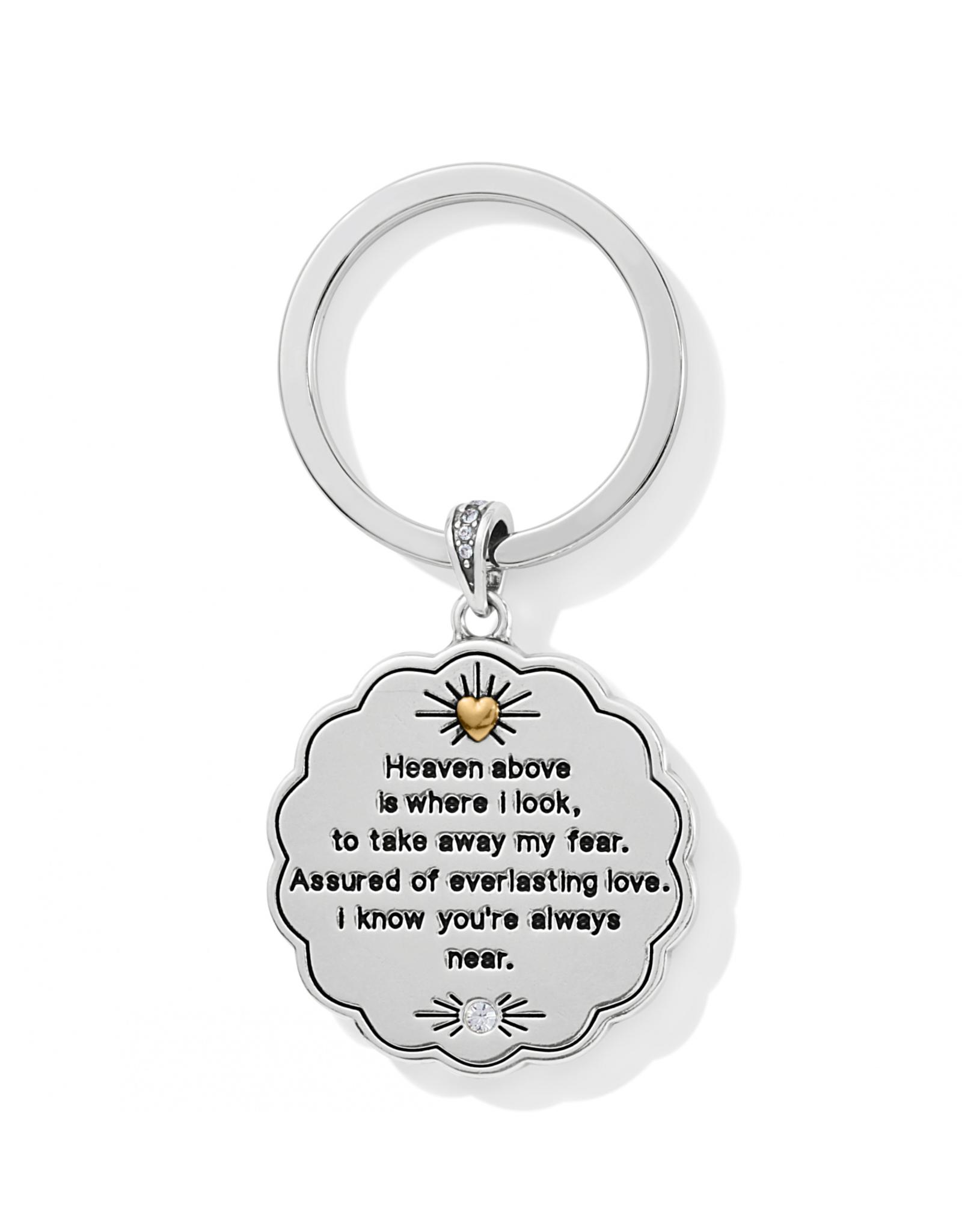 Brighton Celestial Angel Key Fob - Silver & Gold