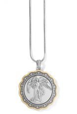 Brighton Celestial Angel Necklace - Silver&Gold