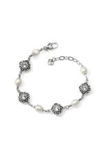 Brighton Alcazar Margaret Bracelet - Silver&Pearl