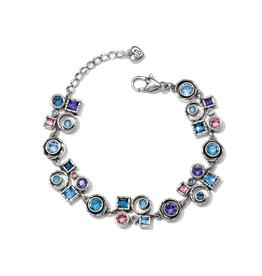 Brighton Halo Aurora Bracelet - Silver & Tanzanite