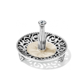 Brighton Lacie Daisy Ring Holder Silver
