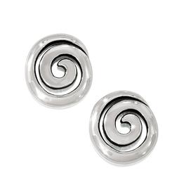 Brighton Vertigo Mini Post Earrings - Silver