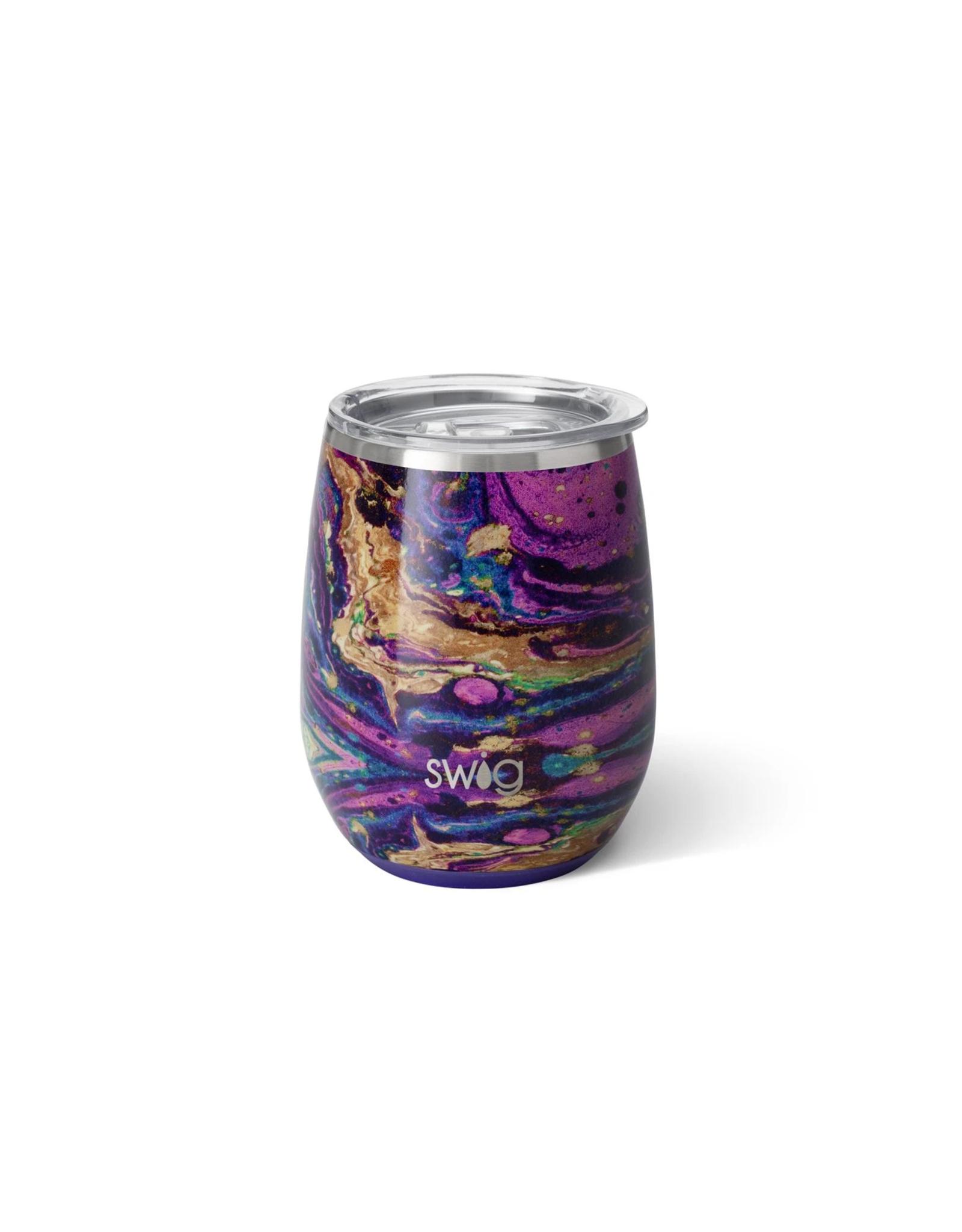 14 oz Stemless Cup - Purple Rain