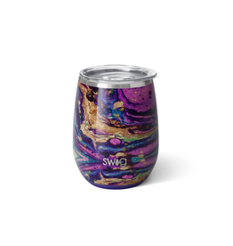 14 oz Stemless Cup - Purple Rain