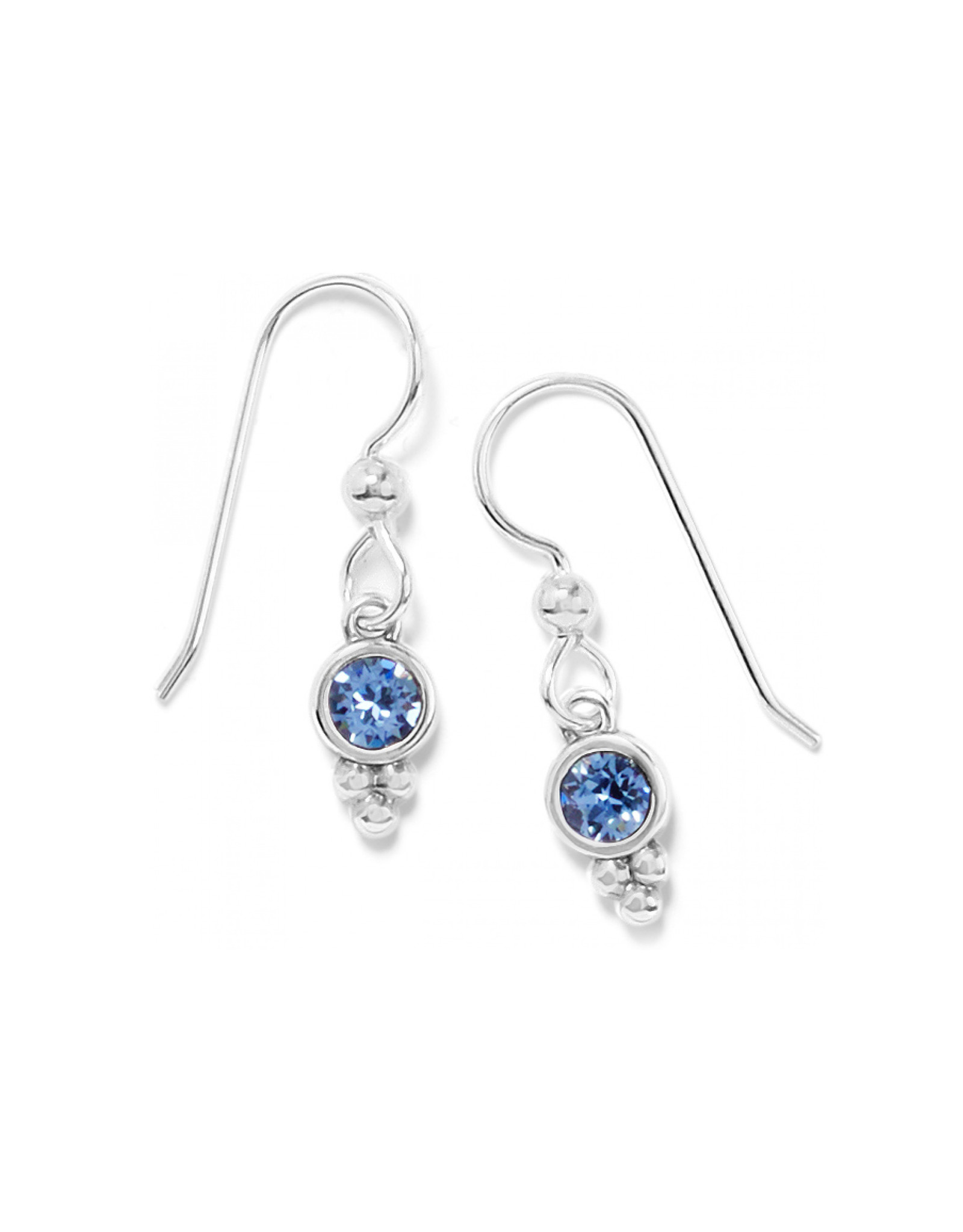 Brighton Color Drops French Wire Earrings - Blue