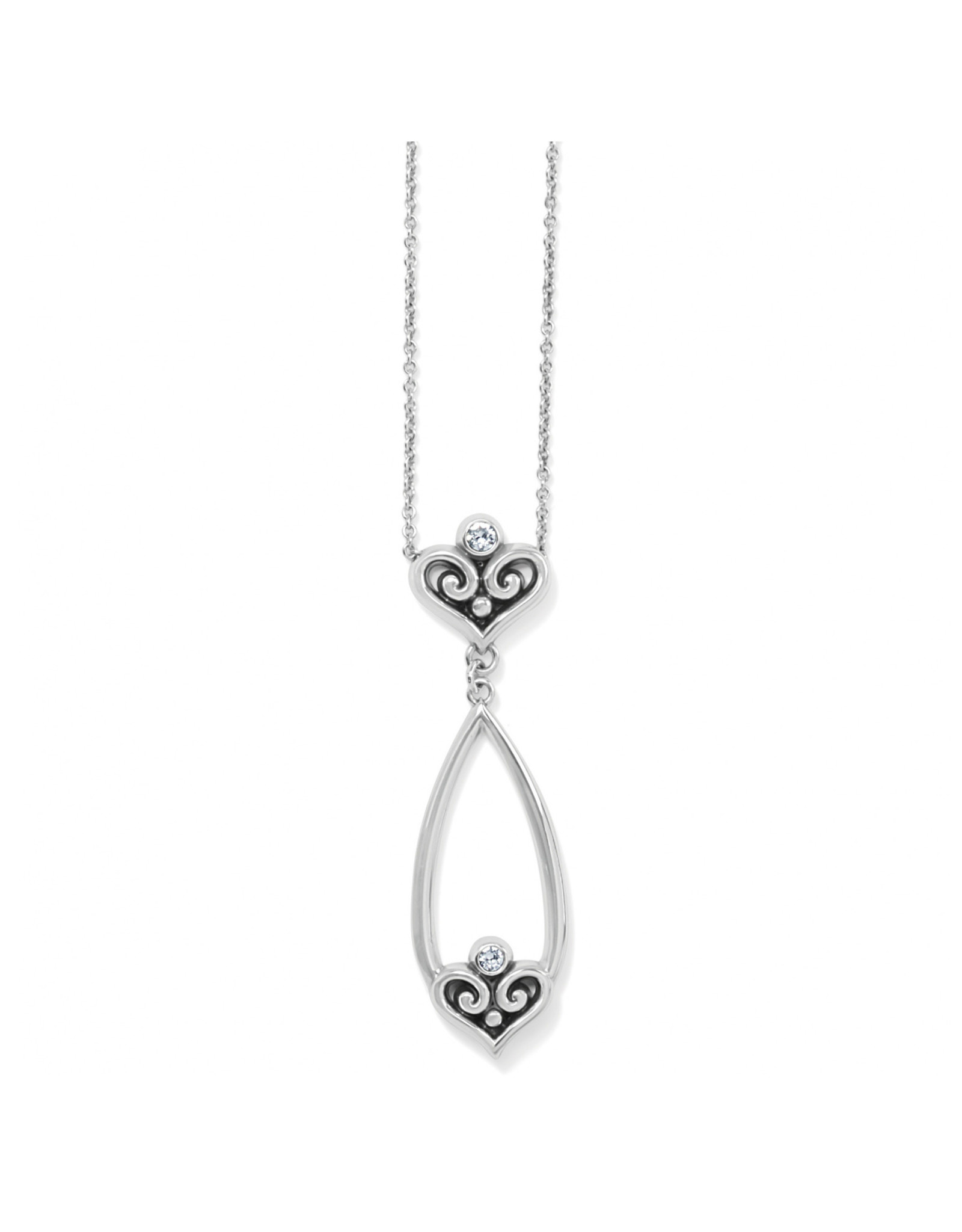 Brighton Alcazar Heart Teardrop Necklace