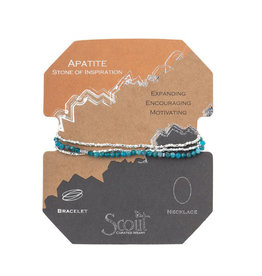 Scout Curated Wears Delicate Stone Bracelet - Apatite