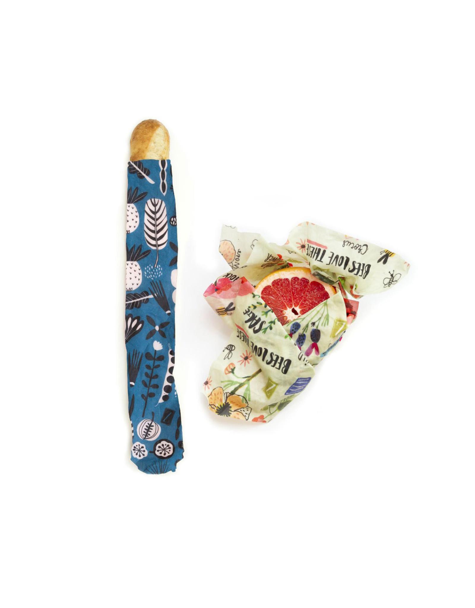 Z Wraps 2pk Z Wraps M/XL - Bees & Petals