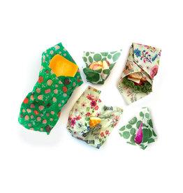 Z Wraps 5pk Z Wraps S/M/L - Greens, Bees & Strawberries