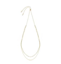 Natalie Wood Designs Blossom Adjustable Necklace - Gold