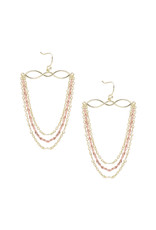 Natalie Wood Designs Blossom Earrings - Gold & Rose Gold