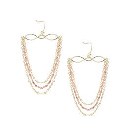 Natalie Wood Designs Blossom Earrings - Gold & Rose Gold