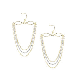Natalie Wood Designs Blossom Earrings - Gold & Silver