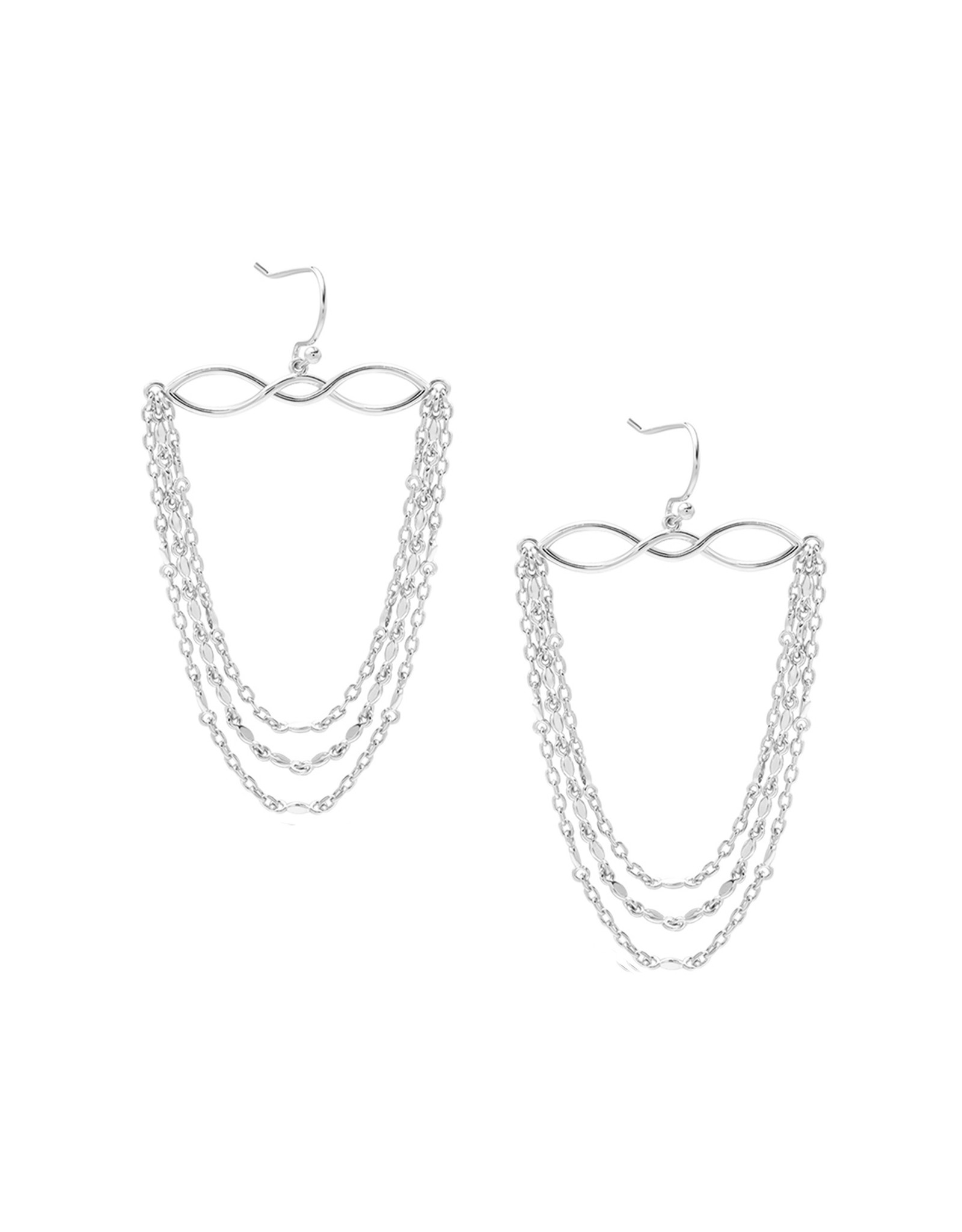 Natalie Wood Designs Blossom Earrings - Silver