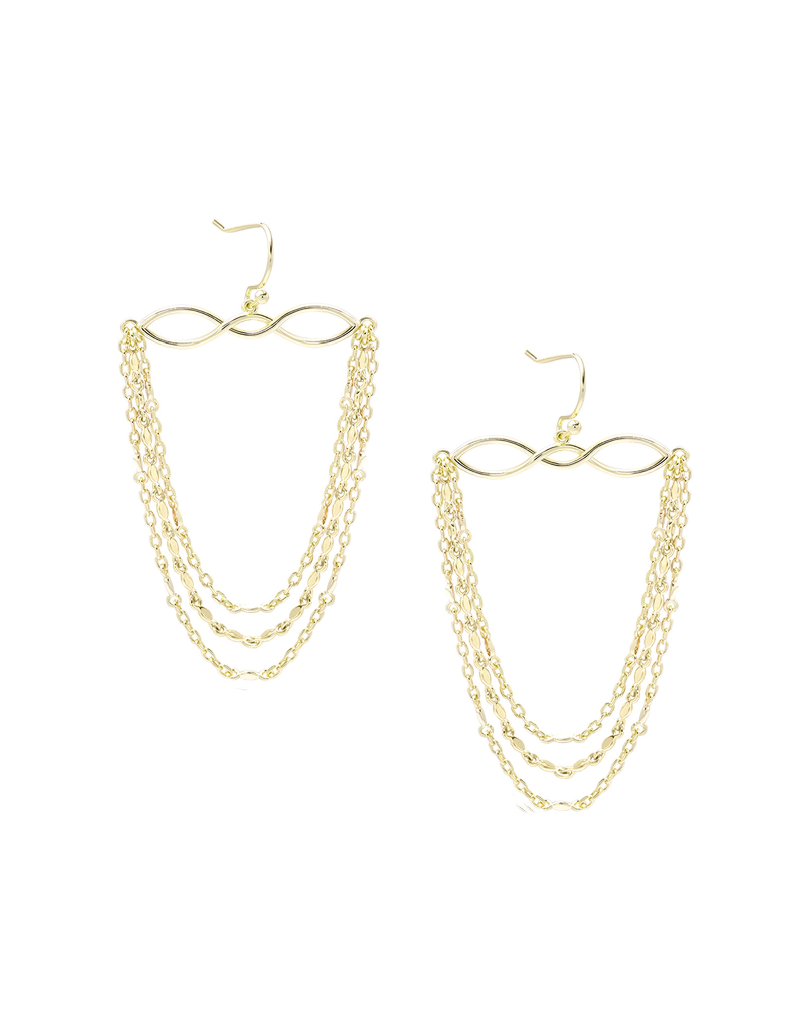 Natalie Wood Designs Blossom Earrings - Gold