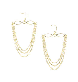 Natalie Wood Designs Blossom Earrings - Gold