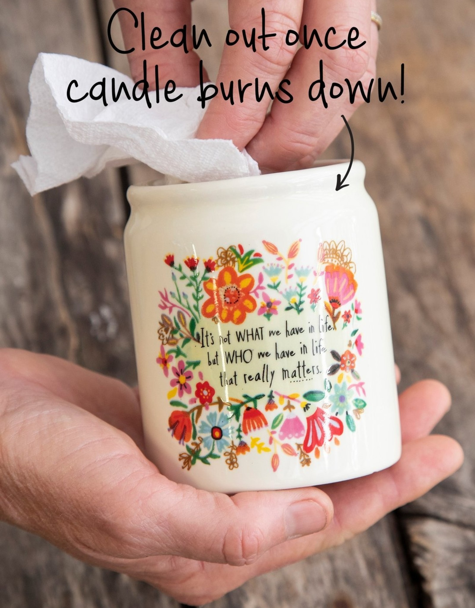 Corked Candle That Really Matters