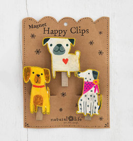 Magnet Happy Clip 3 Dogs