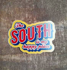 South Happy Place Large Sticker