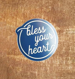 Bless Your Heart Large Sticker