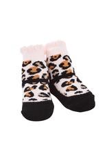 Mudpie Black Leopard Socks