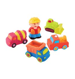Mudpie Construction Bath Toy Set