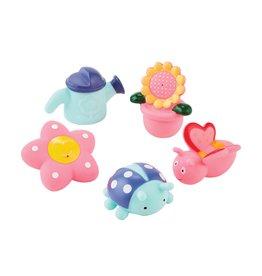 Mudpie Garden Bath Toy Set
