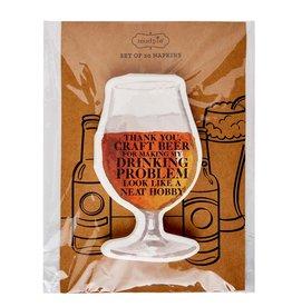 Mudpie Beer Drink Paper Napkins