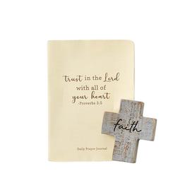 Mudpie Faith Cross and Journal Set