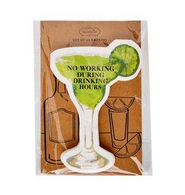 Mudpie Margarita Drink Paper Napkins