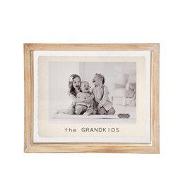 Mudpie 5x7 Grandkids Glass Frame