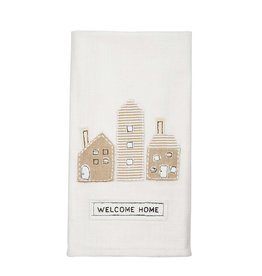 Mudpie Welcome Home Applique Towel