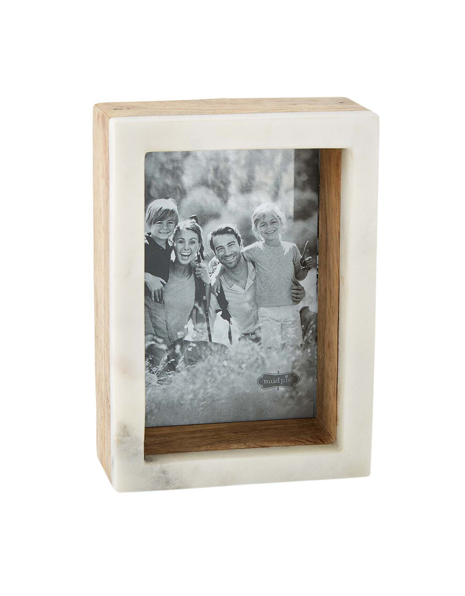 Mudpie 5x7 Wood Marble Shadow Frame