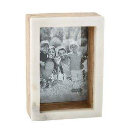 Mudpie 5x7 Wood Marble Shadow Frame