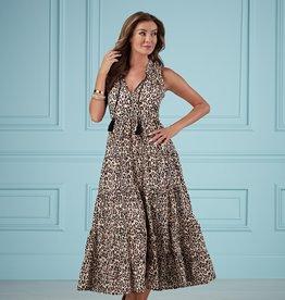 Mudpie Eason Maxi Dress - Leopard