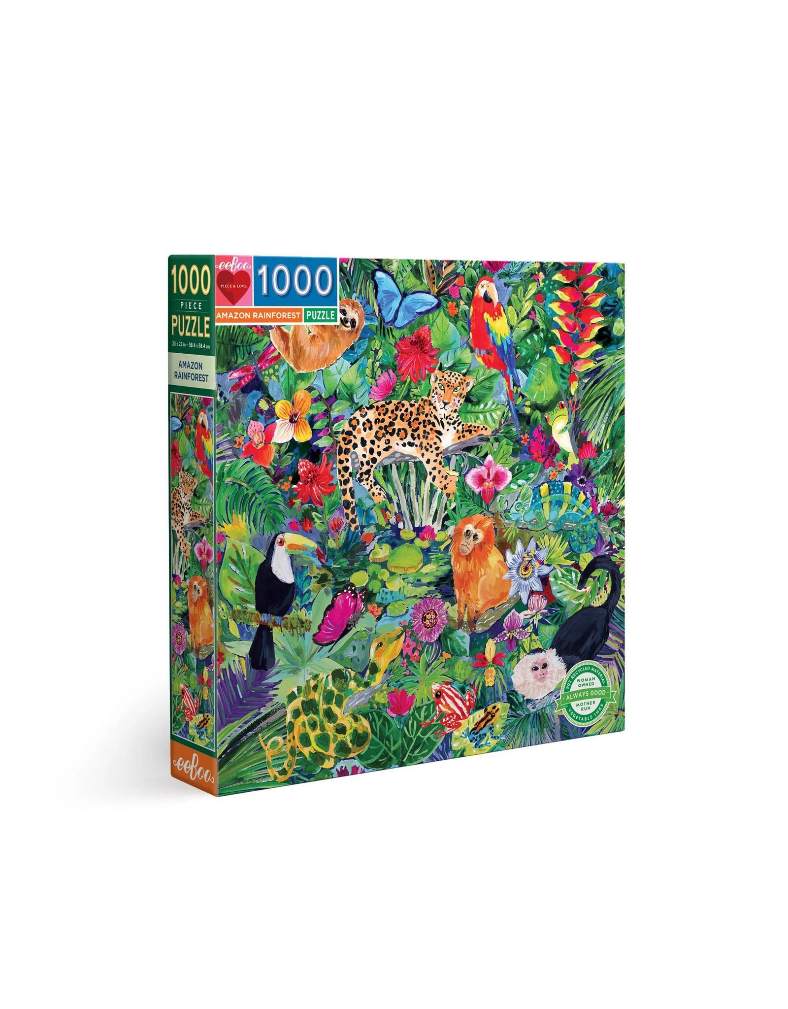 Amazon Rainforest 1000 pc Puzzle