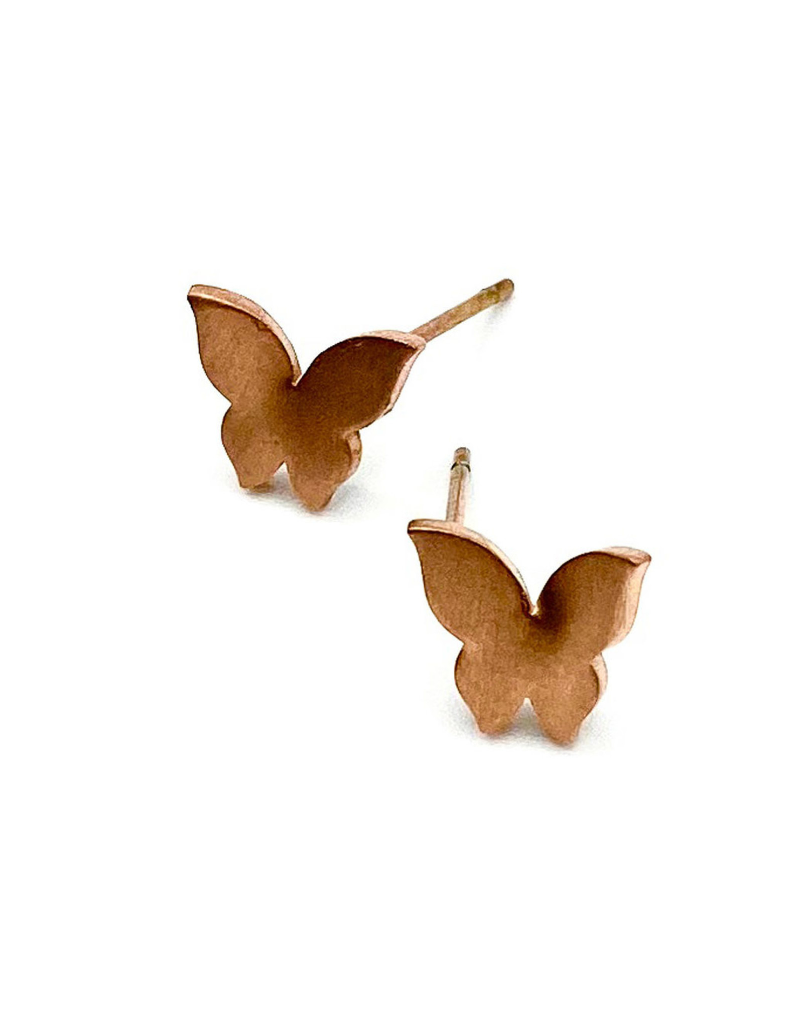 Liventi Butterfly Rose Gold Earrings