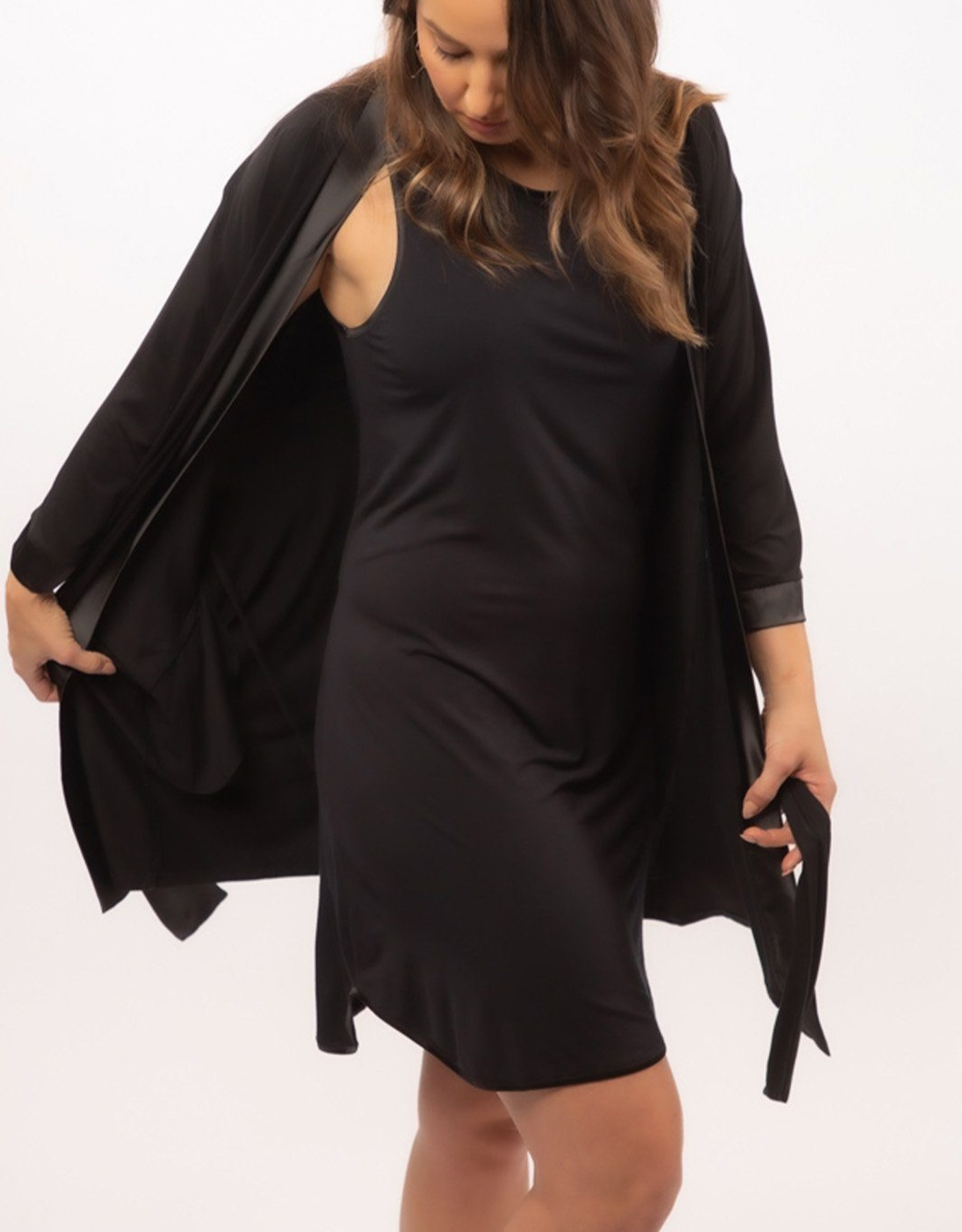 Bamboo You Black Onyx Gown