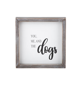 You Me & Dogs Sign