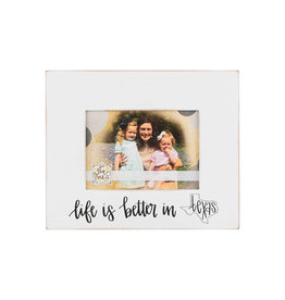 Life is Better in Texas 5x7 frame